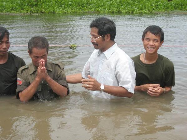 Baptizing Soldiers